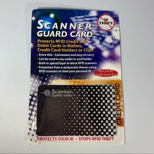 3 FOR $20  RFID Scanner Guard Cards